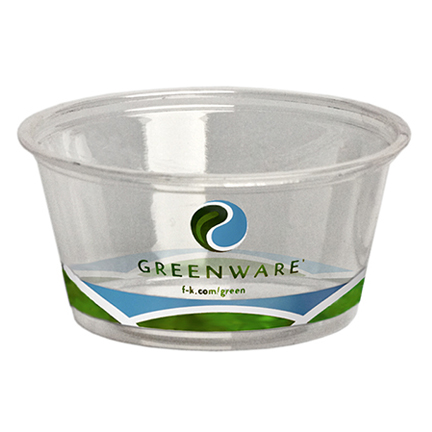 GreenWare 2-oz Printed Portion Cup