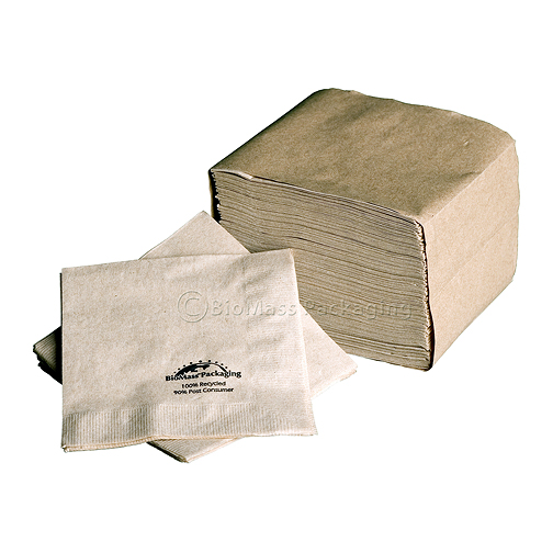 BioMass Packaging Beverage Napkins