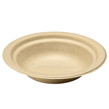 Bridge Gate wheat-staw Bowls 12 oz round