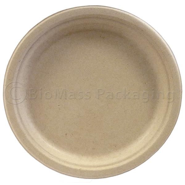 "330-80010 BagasseWare-Wheat 10"" Plate"