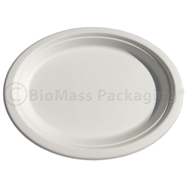 BagasseWare Platter White