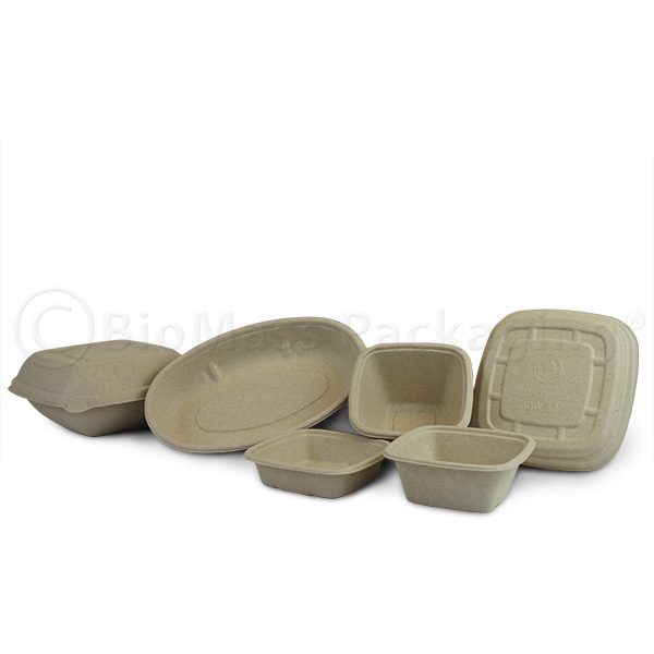 BagasseWare-Wheat Containers