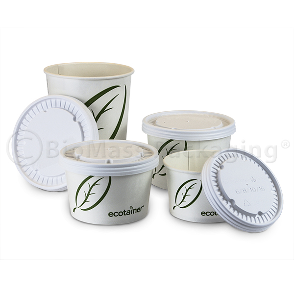 ecotainer Soup Containers with Lid