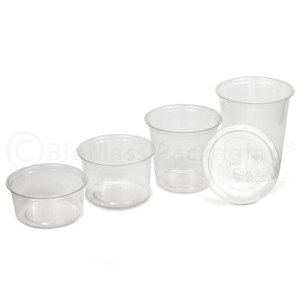 Vegware Round Deli Containers