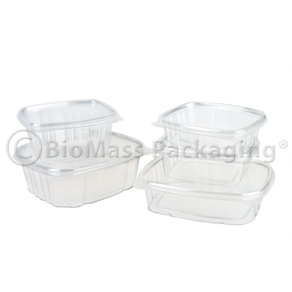 VesraPak Hinged Deli Containers