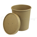 Kraft Soup Container and lid