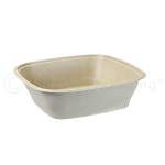 240-oz BagasseWare Square Catering Bowl