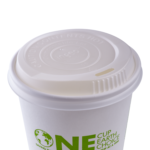 Karat Earth 10-20 oz Compostable Sipper Dome Lid