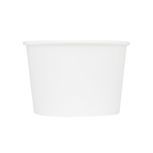 Karat Earth by Lollicup White Soup Container