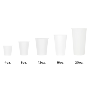 Karat Earth White Hot Cup Sizes