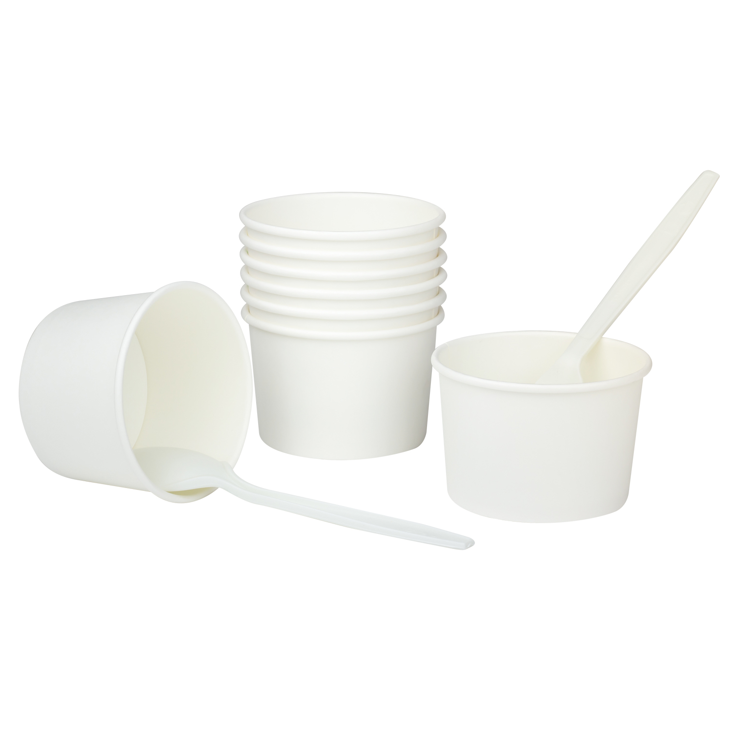 Karat Earth by Lollicup White Soup Containers