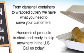 Food Service Products in-stock and ready to ship.