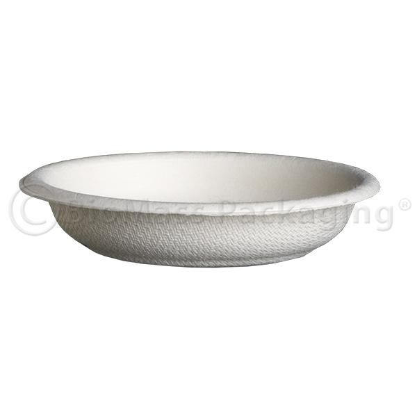 BagasseWare Sample/Dipping Plate White