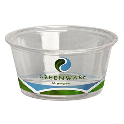 GreenWare 2-oz Printed Portion Cup