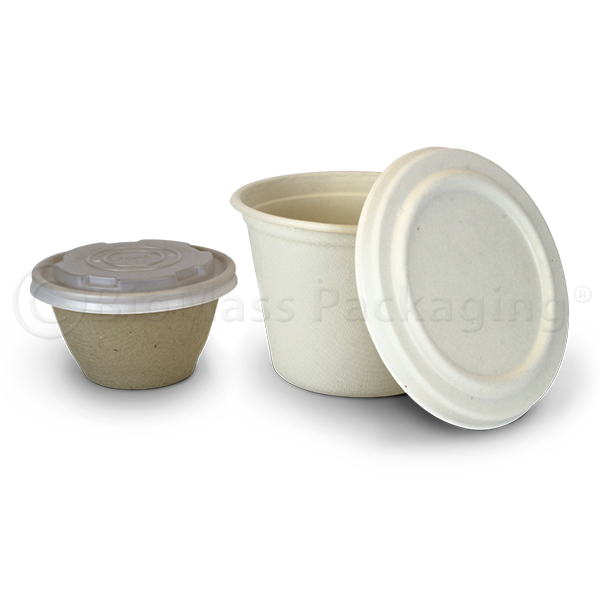 BagasseWare Soup Containers