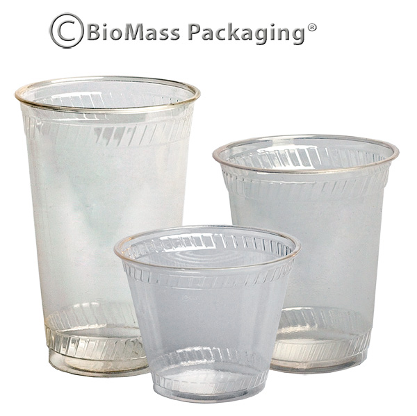 Greenware Clear Cold Cups