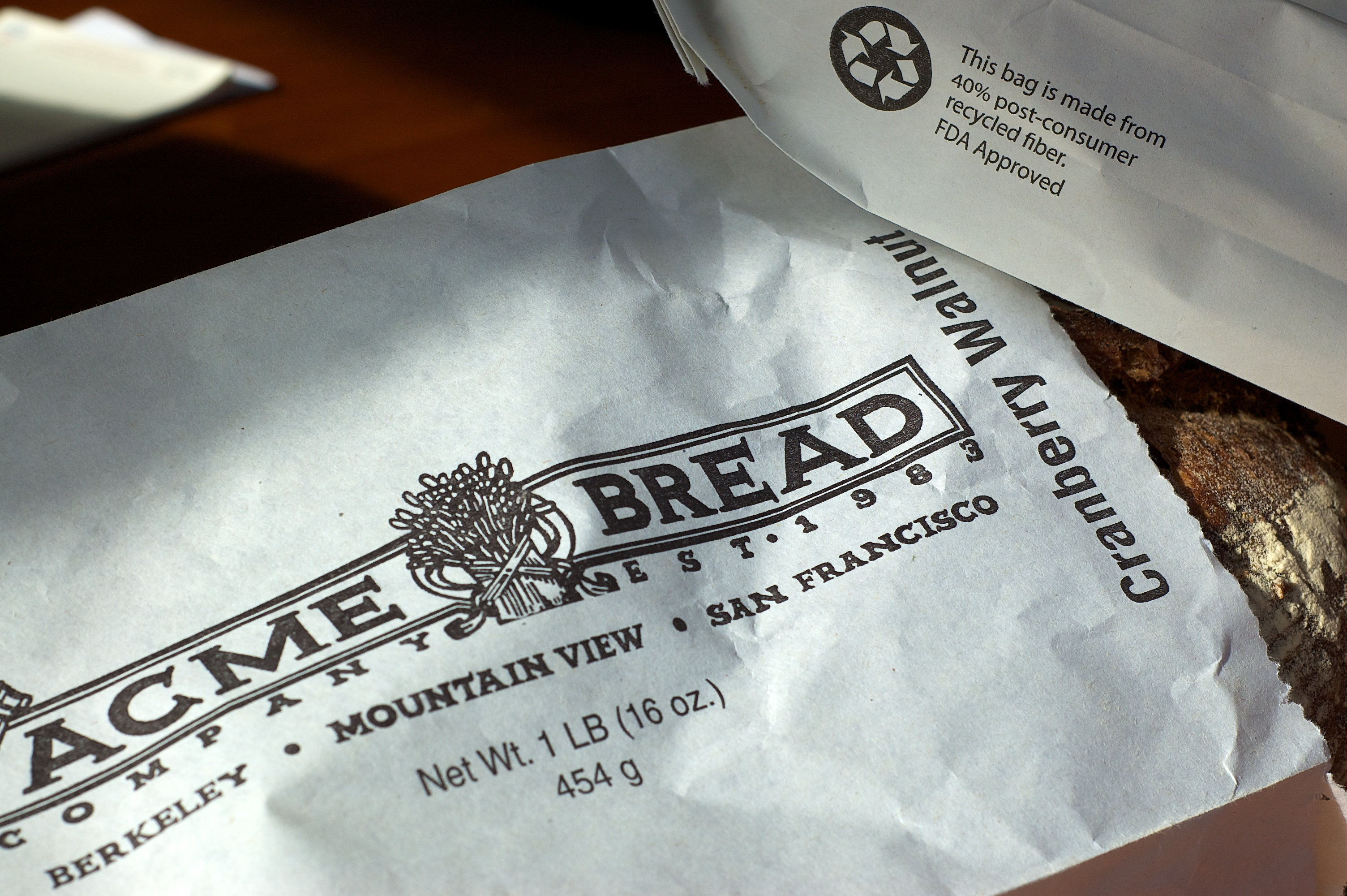 Acme Bread Custom Print Bags
