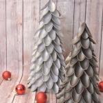 Plastic Spoon Christmas Tree