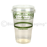 World Centric Snack cup with lid on