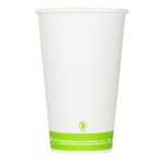 Karat Earth by Lollicup Hot Cups, Compostability message