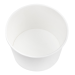 Karat Earth by Lollicup White Soup Container inside