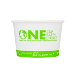 Front of Karat Earth by Lollicup Stock Printed Soup Containers