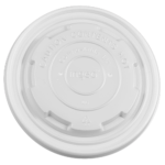Karat Earth by Lollicup White Soup Container Lid