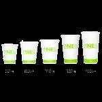 Karat Earth by Lollicup Hot Cup Sizes, 8 oz, 10 oz, 12 oz, 16 oz, and 20 oz