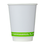 Karat Earth by Lollicup 12oz double wall hot cup side